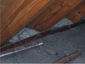 Vermiculite healthy homes vermiculite attic insulation located in the soffit area of an attic difficult to remove solutioingenieria Gallery
